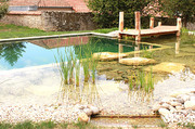 piscina naturale, laghetto balneabile, biopiscina